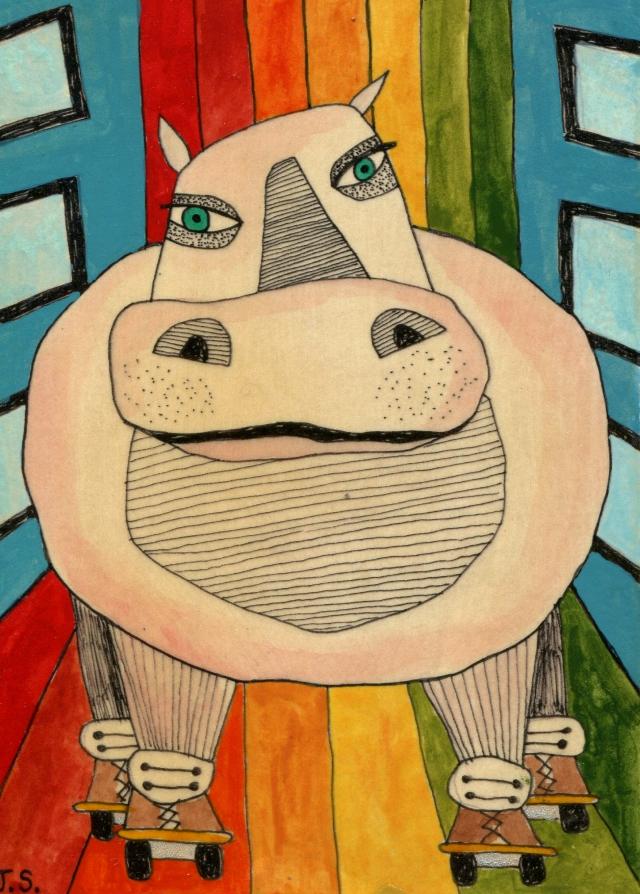 Hippo Skate!!